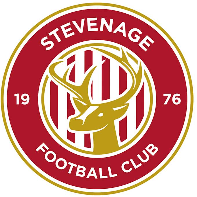 Stevenage badge – because we don't have an image for this blog