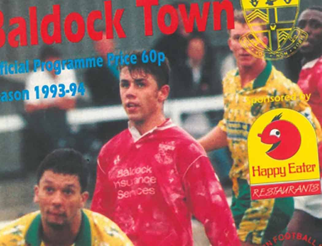 There was once a time when Baldock Town could count future England striker Kevin Phillips as one of their own...
