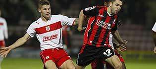Stevenage v AFC Bournemouth, 2012