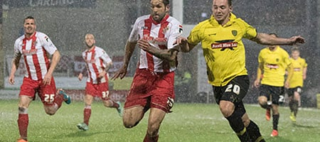 Burton Albion v Stevenage 2015 - courtesy Burton Mail