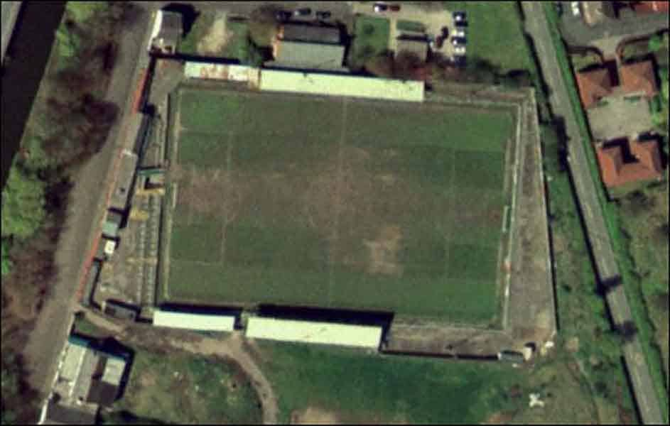 Canal Street – the former home of Runcorn FC
