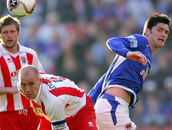 Jason Goodliffe was a talismanic centre half during his time at Boro'