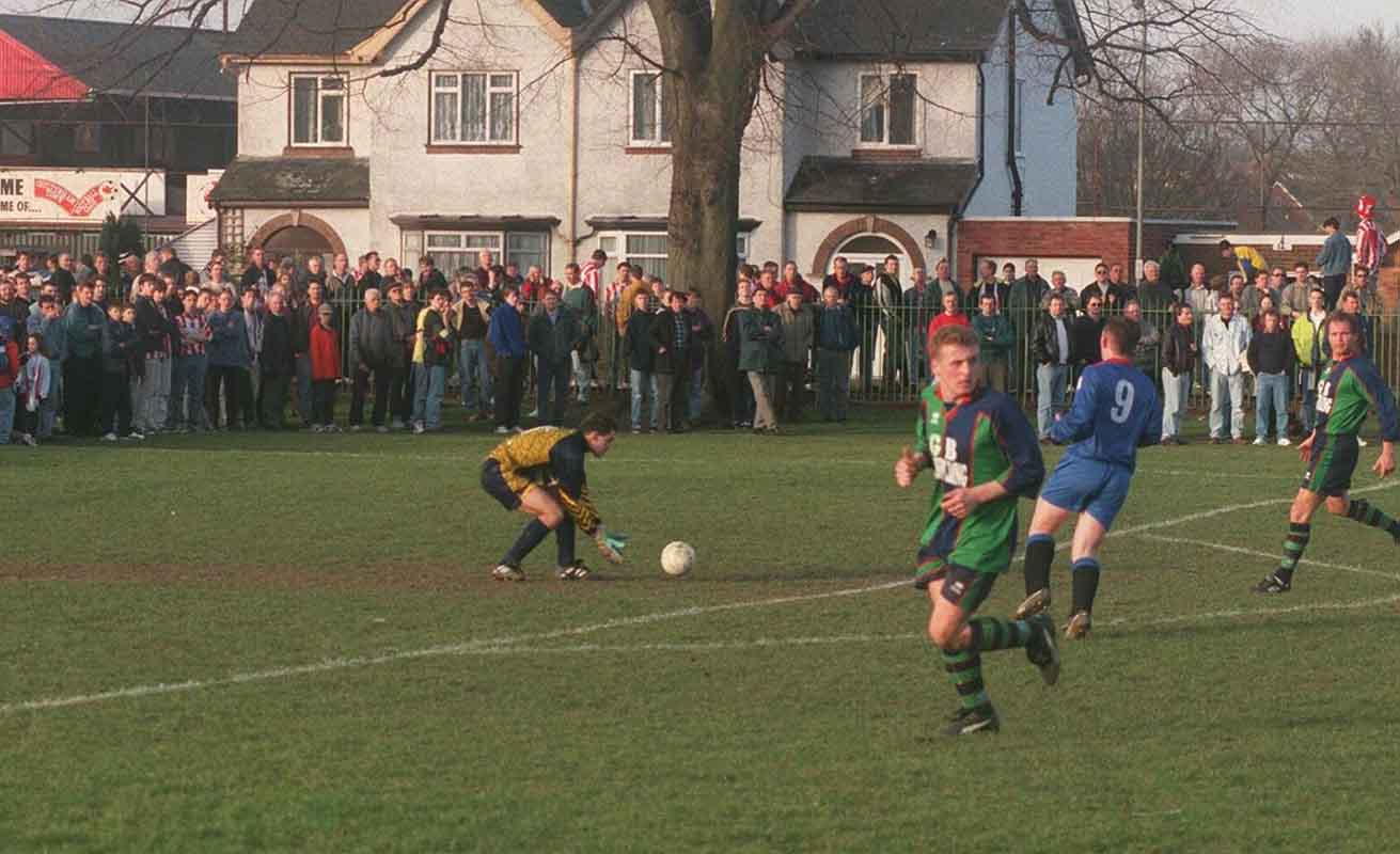 Our match at Cheltenham Town in February 1998 was delayed because of a bomb scare