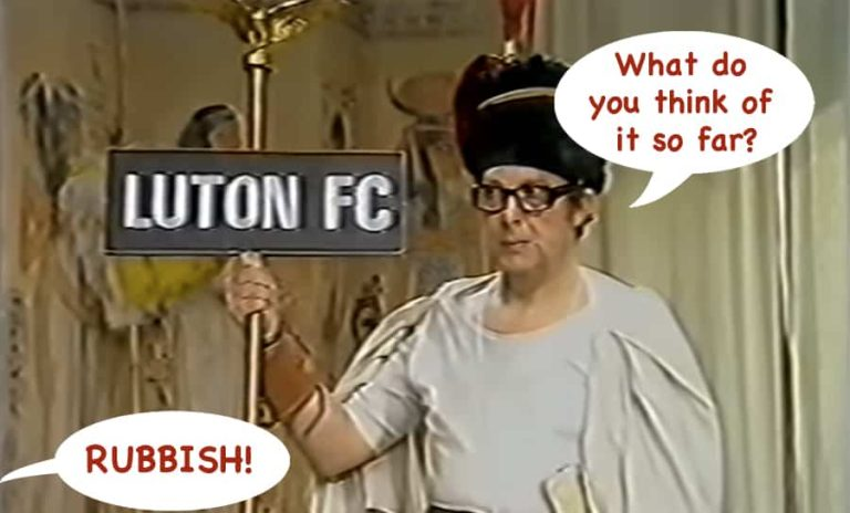 Luton Town: The Mad Hatters' Tea Party