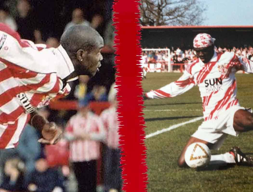Boro' Family Ties: After Efe, brothers Sam (left) and Akpo (not pictured) had a lot to live up to at Boro'