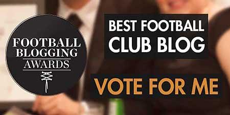 Football Blogging Awards: Vote for BoroGuide