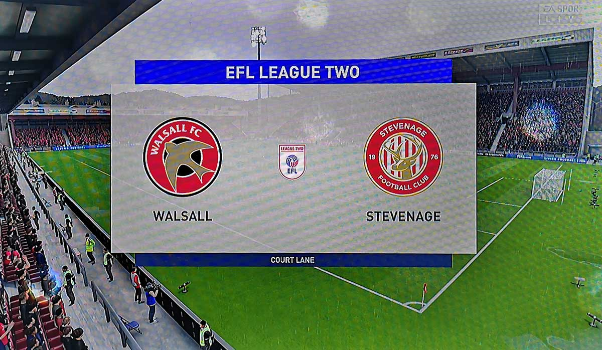 FIFA 20 Verdict: Walsall v Stevenage (23 November 2019)