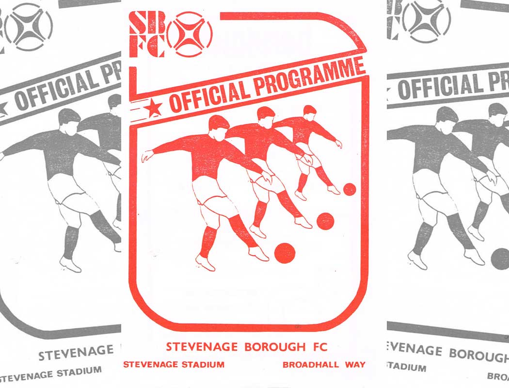 Our first-ever season in senior football was a belter. But why did we put out a programme for the final league match if it was an away fixture?