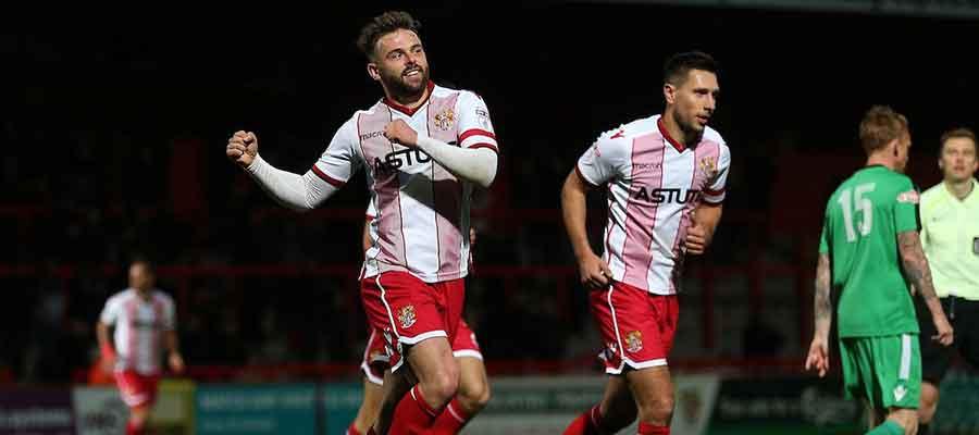 Matt Godden scored an FA Cup hattrick against Nantwich Town