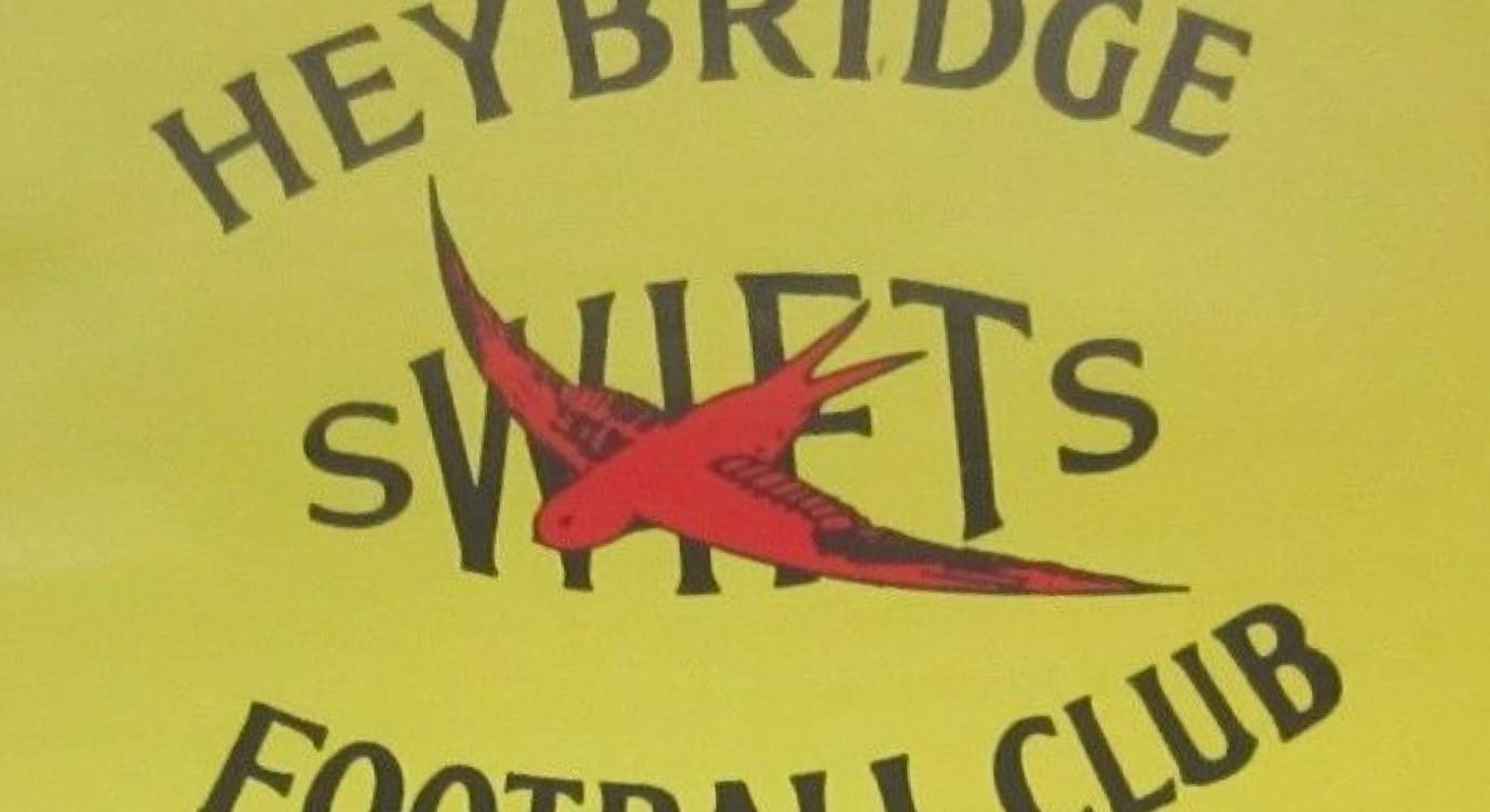 Right then, here a starter for 10. Can you give us any other team with such an elegant name as Heybridge Swifts? Yeah – we very much doubt it...