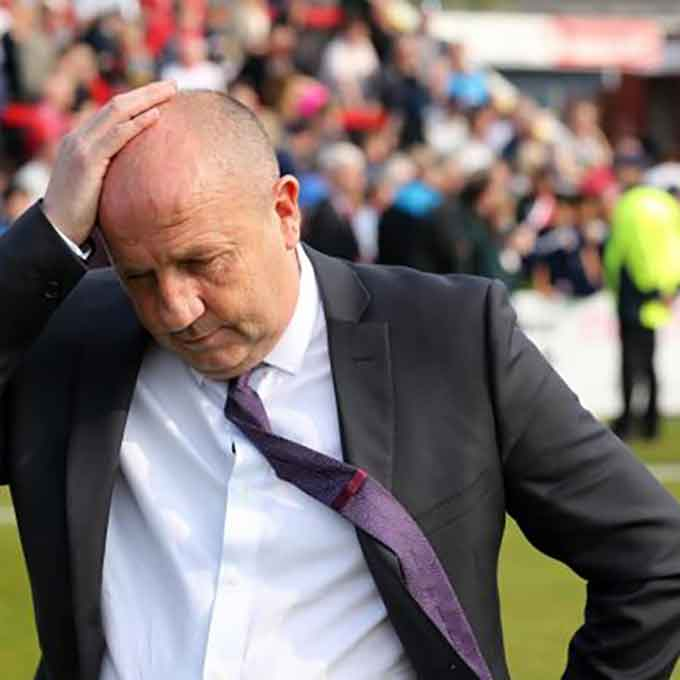 Stevenage v Accrington Stanley: Just try and be nice to him, please?