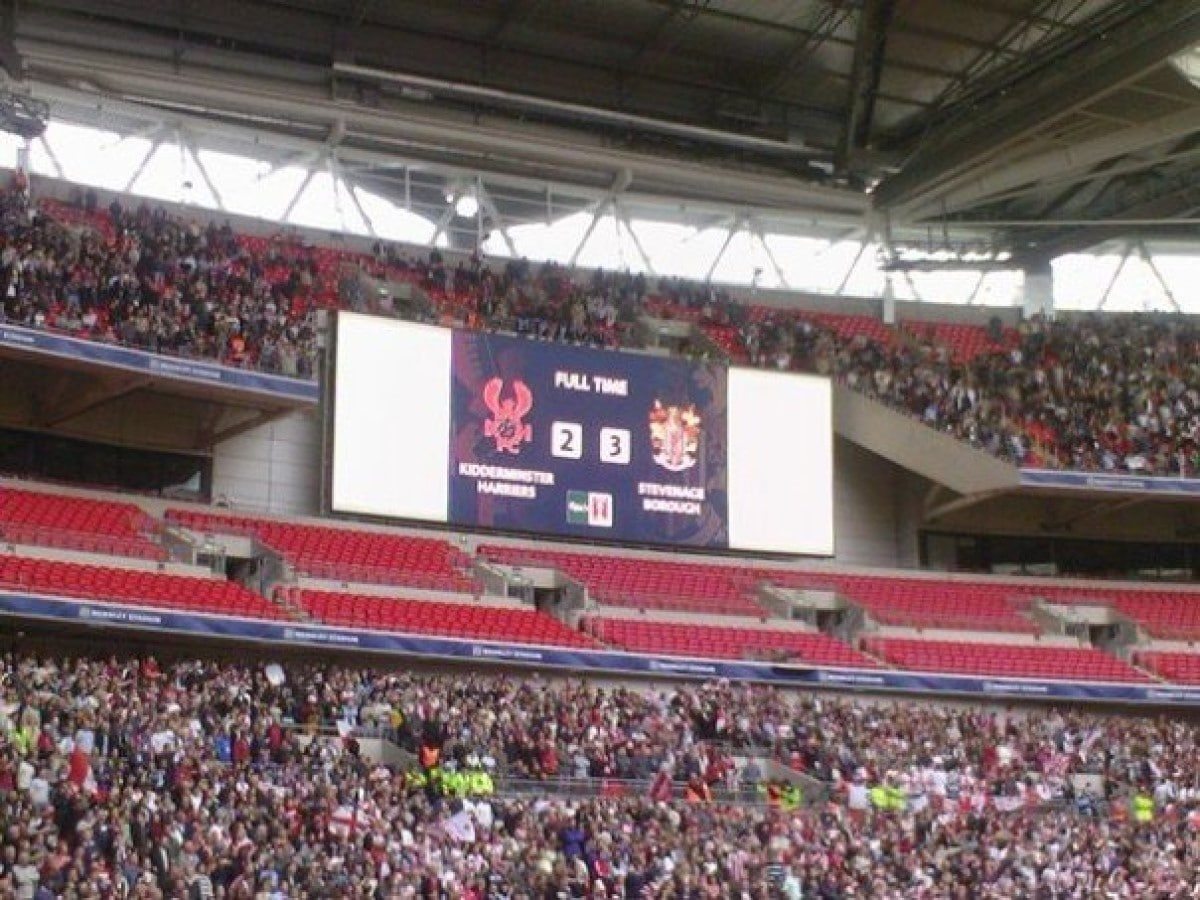 Kidderminster Harriers 2-3 Stevenage Borough, 2007 FA Trophy Final