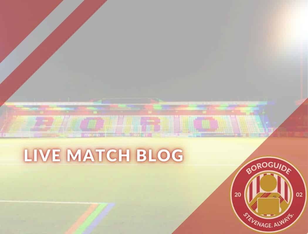 All the live action from Boro's latest match