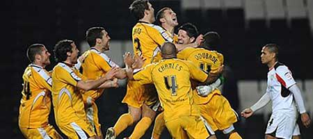 MK Dons v Stevenage, FA Cup 2010