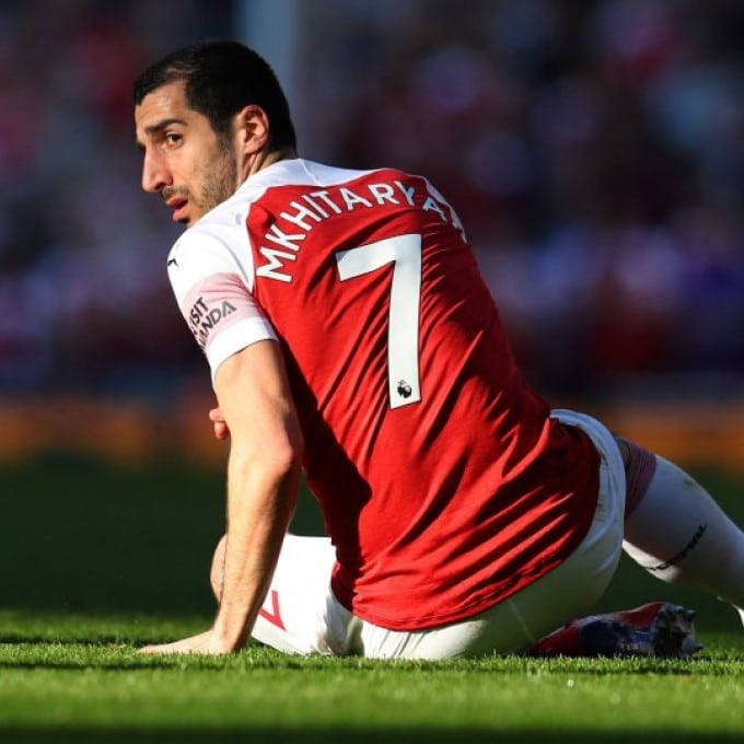 Henrikh Mkhitaryan - now on loan at Roma from Arsenal (Getty Images)