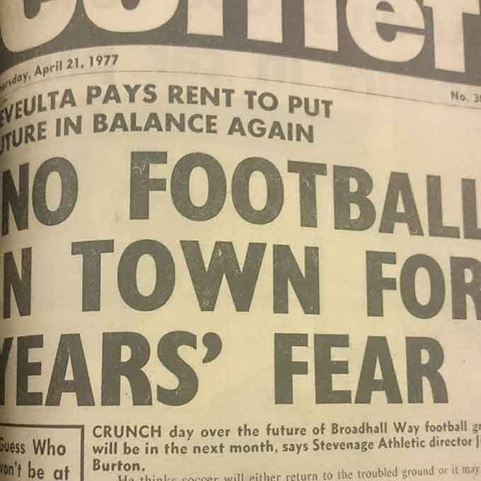 'No Football In Town For Years' Fear: Blast From The Past