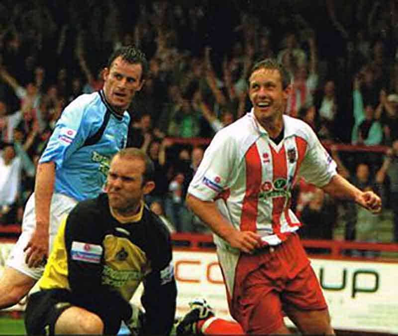 Alty were in the firing line on day one of the 2005-6 season at BHW, and we tonked 'em