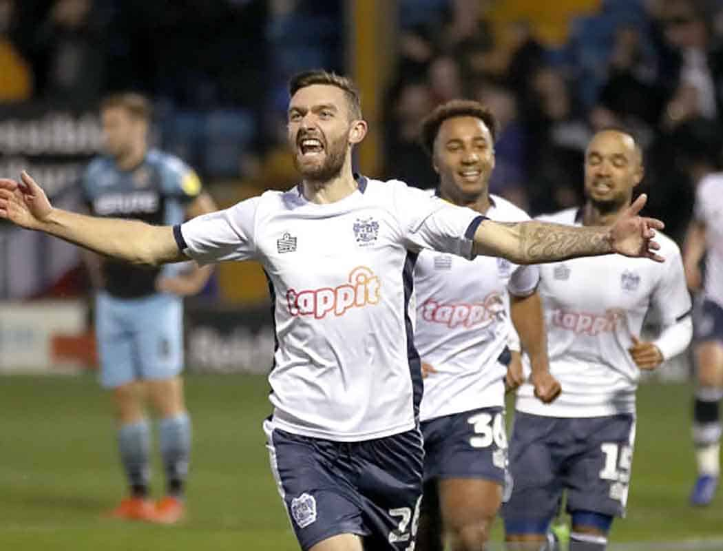 O'Shea scored twice as Bury hammered us 4-0 in November 2018