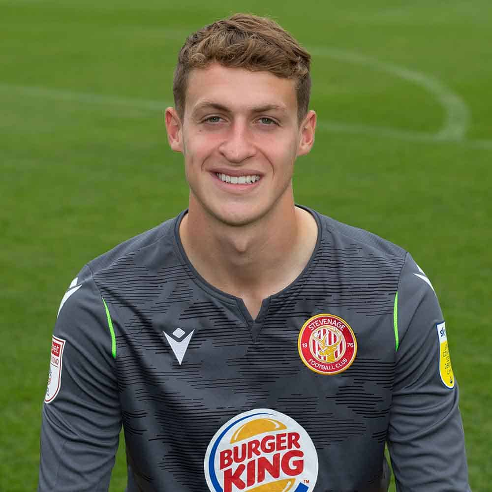 Stevenage Player: Jamie Cumming (Goalkeeper)