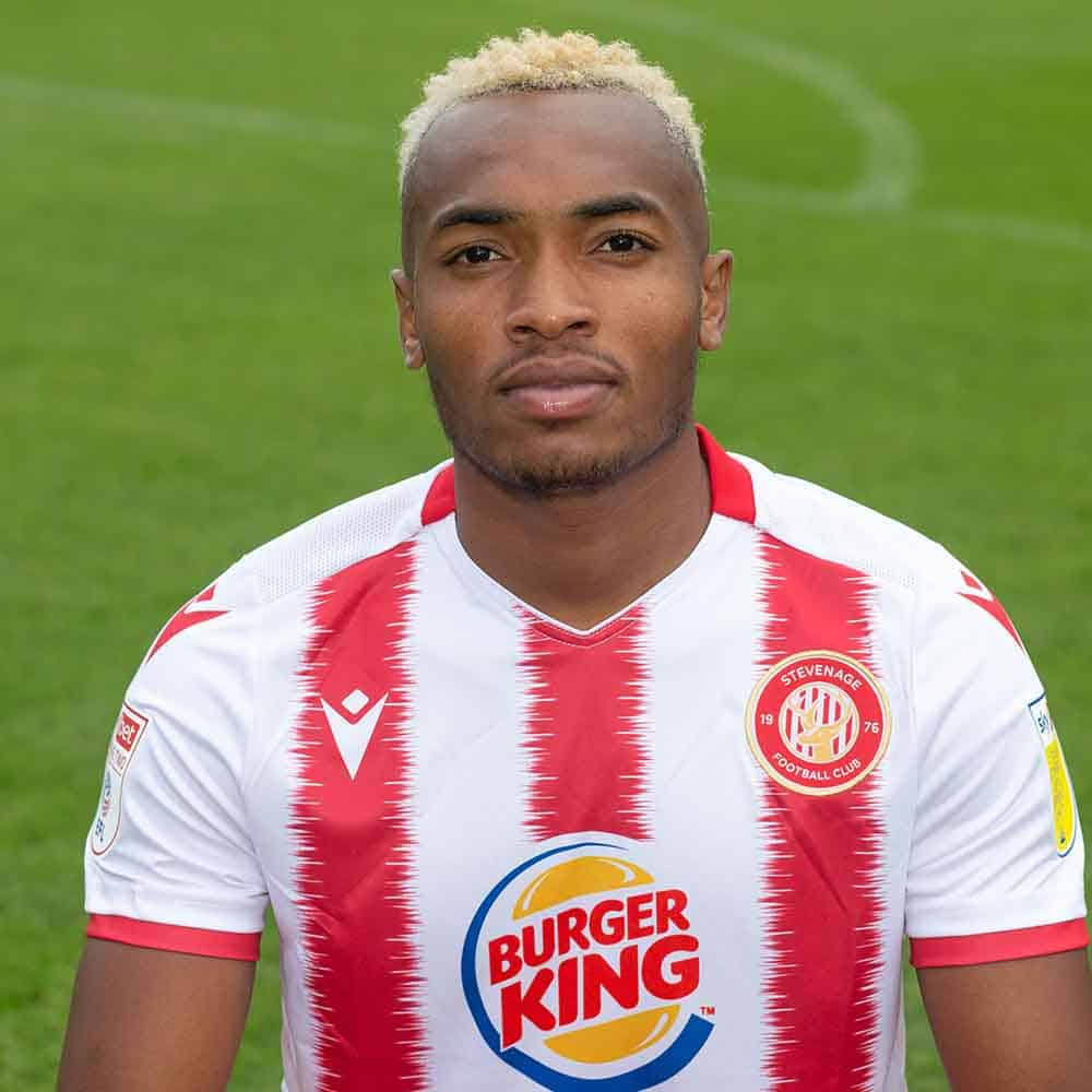 Stevenage Player: Marcus Dinanga (Forward)