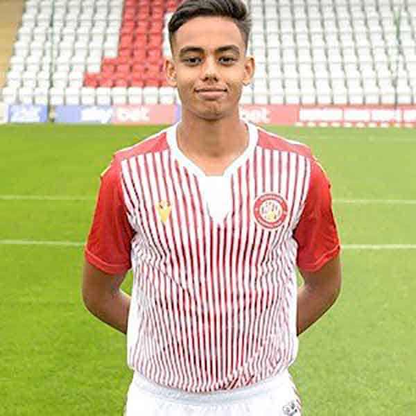 Stevenage Player: Yasin Arai (Forward)