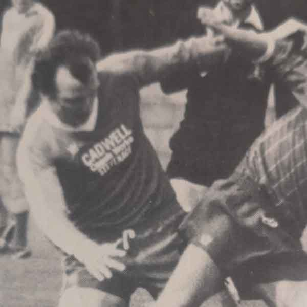 A tall central defender, Paul Johnson's most consistent run in the Boro' team came during the 1982-3 season