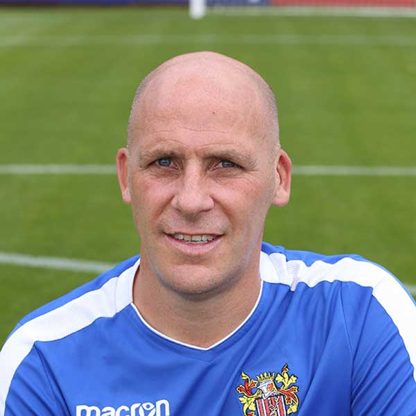 One of our longest serving players, Jason Goodliffe was at Broadhall Way for six years and you couldn't underestimate his importance to the team