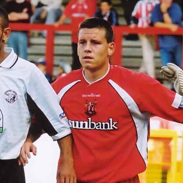 Charlie MacDonald signed for the Boro' at the same time as winger Michael Blackwood; brought in from Margate by gaffer Wayne Turner