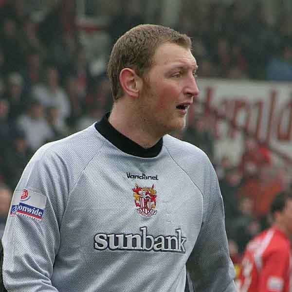 Mark Westhead arrived at Broadhall Way in summer 2002; Boro' releasing both goalkeepers that had been on our books for the previous season