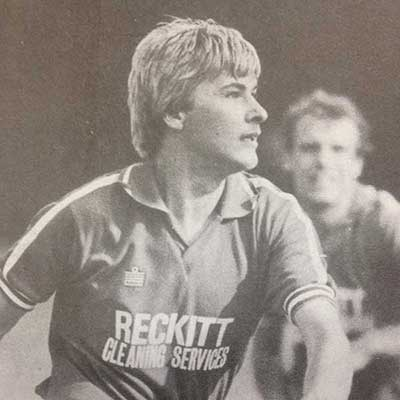 First joining the club in 1982, Graham Cox contributed more than 50 goals from midfield during two separate spells with Stevenage Borough