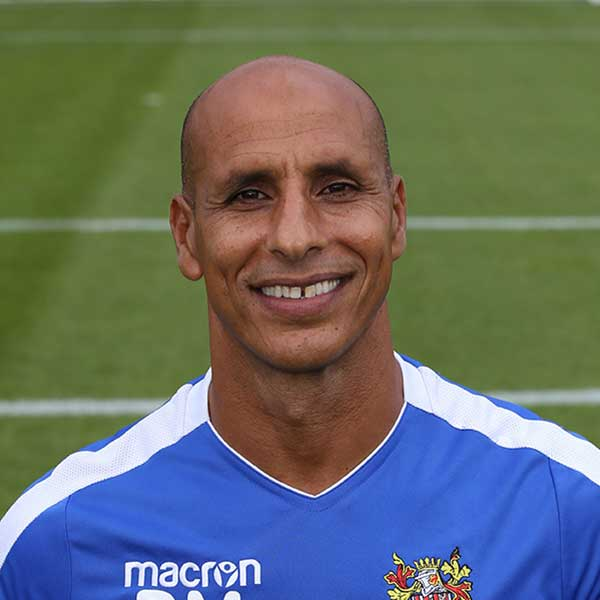 Despite a spell of poor form at the start of the 2004-5 season, Dino Maamria ended the season as the hero of Stevenage Borough99
