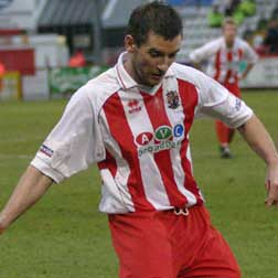 Rob Quinn's role within the squad was perhaps greatly understated during the 2004-5 season, particularly towards the end of the campaign