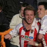 The demise of Hornchurch two months into the 2004-5 campaign did benefit Stevenage Borough in the shape of midfielder Simon Weatherstone
