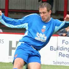 In a bid to sign a striker to score goals on a regular basis, Darryn Stamp was signed in January 2005 after falling out of favour at Chester City