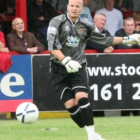 Mark Stimson's second signing after taking charge, Danny Potter was a decent stopper who arrived from Canvey Island