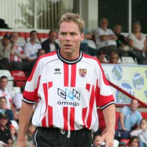 Stevenage Borough added Steve Guppy to the squad a week into the 2006-7 season; the ex-Leicester City winger signing on a free from DC United