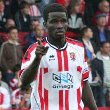 Gambia-born central defender Hasim Deen joined us from Margate – then managed by ex-Boro' legend Robin Trott – in 2006.