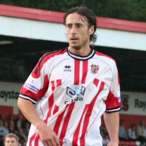 Adam Miller came to us from Championship side QPR on a free transfer, having already played at Conference level with Aldershot Town