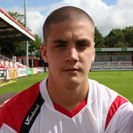Another product of our EFCO scheme, Jack Bradshaw signed a full time contract in 2006 after switching from being a striker to a full back role