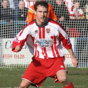 Signed from Thurrock after a brief loan stint at Chesterfield in early 2007, Mark Hughes had also once been on the books at Tottenham Hotspur