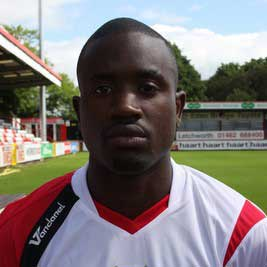 Anthony Thomas signed for Stevenage Borough in May 2008, after former club Barnet decided not to extend his contract for another year