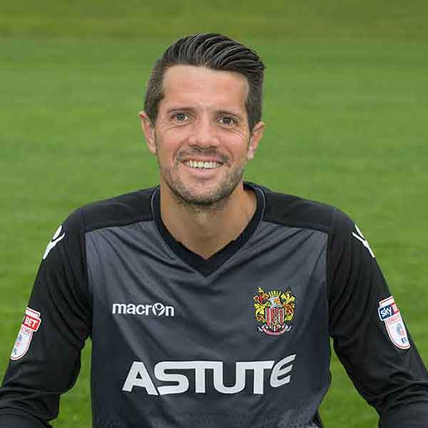 It is plain weird that Chris Day didn't end up seeing out his playing days at the Lamex; the stopper coming to us as a spritely 32-year-old and staying for a decade