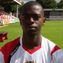 Young full-back Eddie Odhiambo moved to Stevenage Borough during the 2008 close season after a couple of seasons at Oxford United