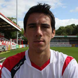 Attacking midfielder Peter Vincenti was one of many names to join Boro' in the January 2008 transfer window after Millwall did away with his services