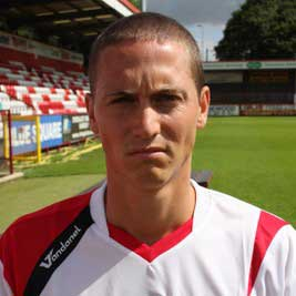 David Bridges, a 25-year-old stylish midfielder, signed for Stevenage Borough in May 2008 after deciding to leave newly-promoted Kettering Town