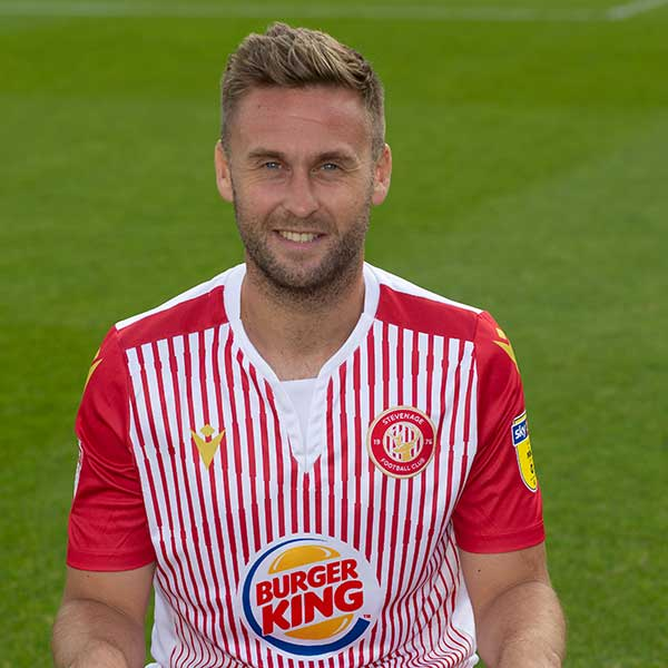 Stevenage Player: Joel Byrom (Midfield)