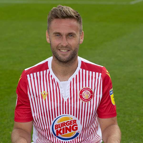 Stevenage Player: Joel Byrom (Midfield)