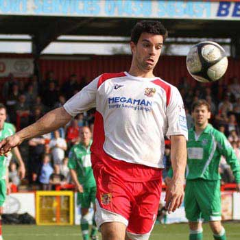 In a bid to further strengthen our promotion hopes during the second half of the 2009-10 season, Graham Westley brought in prolific striker Tim Sills
