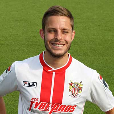 Energetic midfielder Robin Shoot joined the Stevenage ranks in summer 2011 after impressing manager Graham Westley in a handful of pre-season appearances