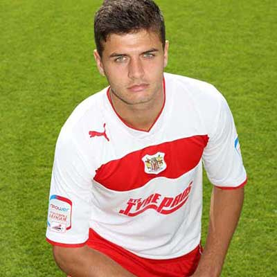 At 18 years old, Michael Thalassitis was the first of two Centre of Excellence graduates to sign a pro deal with Stevenage in summer 2011